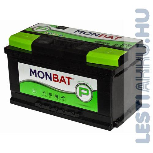 MONBAT P Series Autó Akkumulátor 12V 85Ah 740A Jobb+