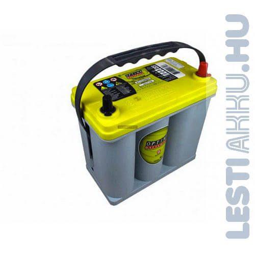 OPTIMA Yellow Top Autó Akkumulátor 12V 38Ah 460A Japán Jobb+