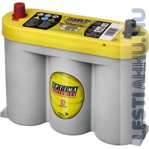 OPTIMA Yellow Top Autó Akkumulátor 6V 55Ah 765A Közép Bal+