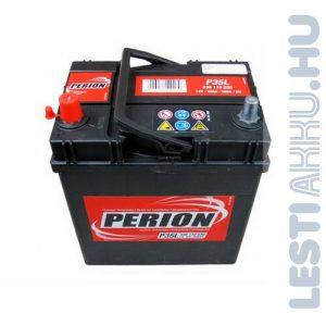 PERION Autó Akkumulátor 12V 35Ah 300A Japán Bal+ (5351190307482)
