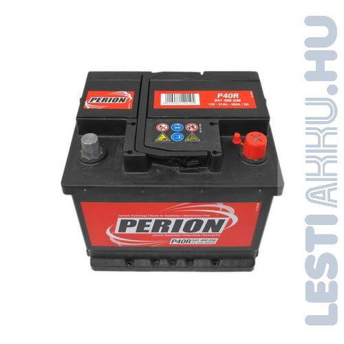 PERION Autó Akkumulátor 12V 41Ah 360A Jobb+ (5414000367482)
