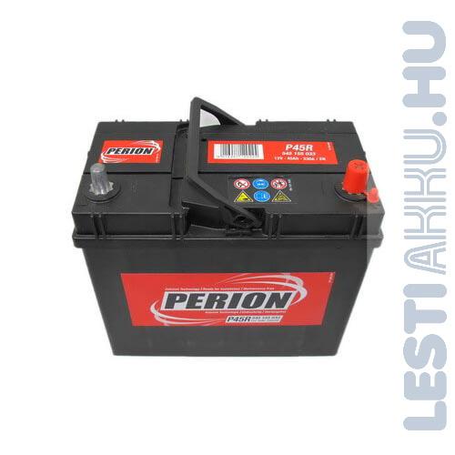 PERION Autó Akkumulátor 12V 45Ah 330A Japán jobb+ (5451550337482)