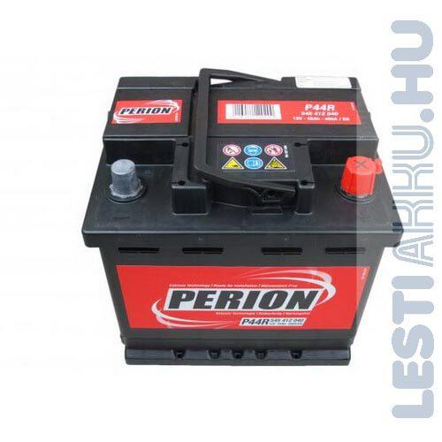 PERION Autó Akkumulátor 12V 45Ah 400A Jobb+ (5454120407482)
