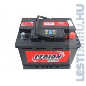 PERION Autó Akkumulátor 12V 56Ah 480A Jobb+ (5564000487482)