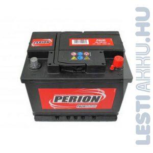 PERION Autó Akkumulátor 12V 60Ah 540A Alacsony Jobb+ (5604090547482)