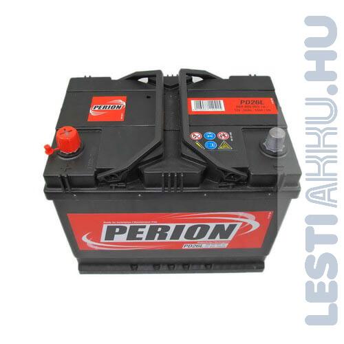 PERION Autó Akkumulátor 12V 68Ah 550A Japán Bal+ (5684050557482)