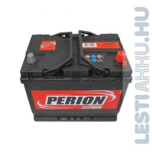PERION Autó Akkumulátor 12V 68Ah 550A Japán Jobb+ (5684040557482)