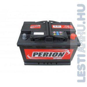 PERION Autó Akkumulátor 12V 74Ah 680A Jobb+ (5741040687482)