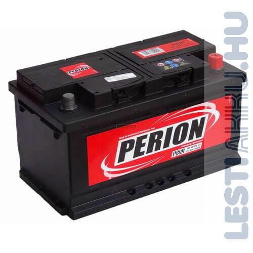 PERION Autó Akkumulátor 12V 80Ah 740A Jobb+ (5804060747482)