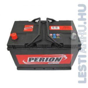 PERION Autó Akkumulátor 12V 91Ah 740A Japán Bal+ (5914010747482)