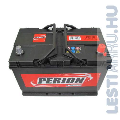 PERION Autó Akkumulátor 12V 91Ah 740A Japán Jobb+ (5914000747482)