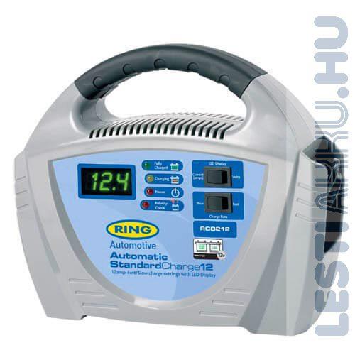 RING Akkumulátor töltő 12V 12 Amp (RECB212)