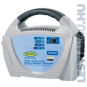 RING Akkumulátor töltő 12V 8 Amp (RECB208)
