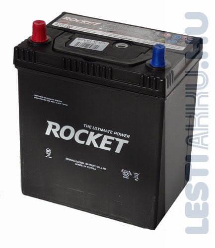 ROCKET Autó Akkumulátor 12V 40Ah 340A Japán Bal+ (SMF42B19R)