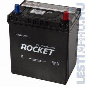 ROCKET Autó Akkumulátor 12V 40Ah 340A Japán Jobb+ (SMF42B19L)