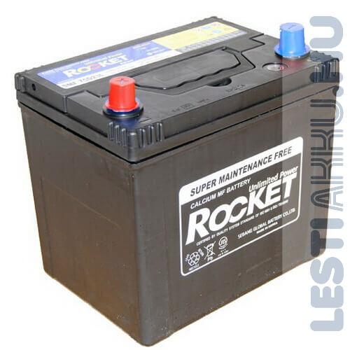 ROCKET Autó Akkumulátor 12V 65Ah 580A Japán bal+ (SMF75D23R)