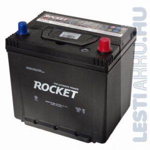 ROCKET Autó Akkumulátor 12V 65Ah 580A Japán Jobb+ (SMF75D23L)