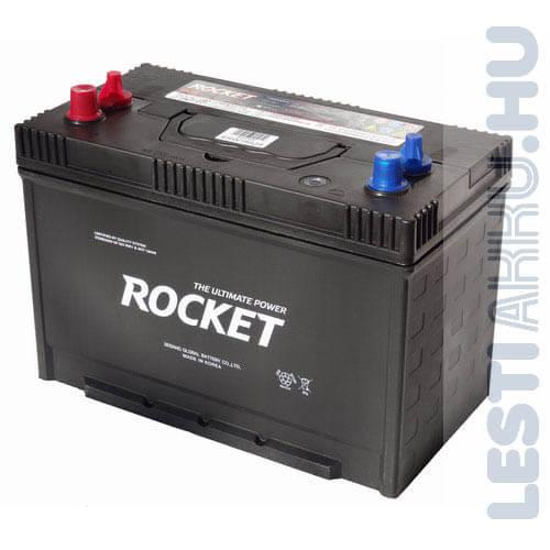 ROCKET Unlimited Power munka akkumulátor 12V 110Ah Bal+