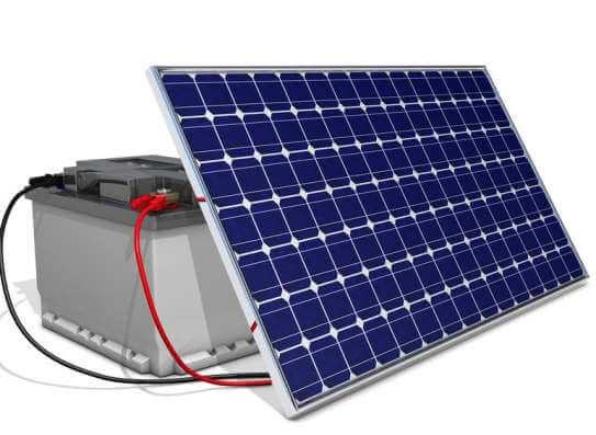 Solar akkumulátor