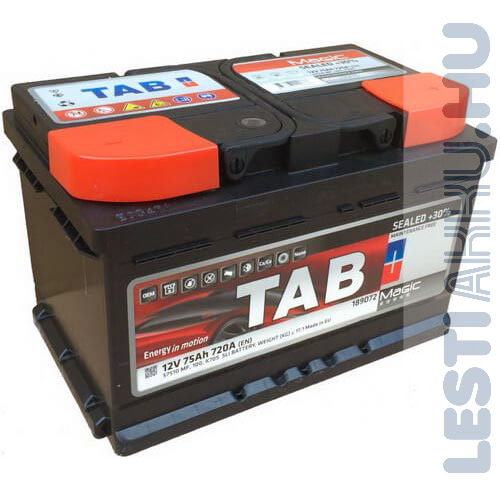 TAB Magic Autó Akkumulátor 12V 75Ah 720A Jobb+