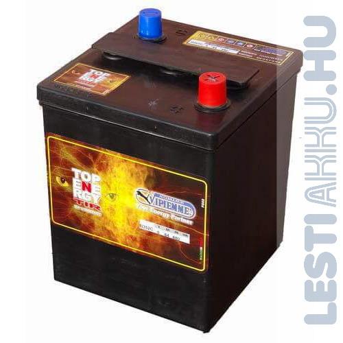 TOP ENERGY Akkumulátor 6V 84Ah 480A Bal+