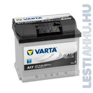 VARTA A17 Black Dynamic Autó Akkumulátor 12V 41Ah 360A Jobb+ (541400036)