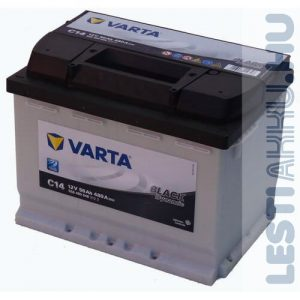 VARTA C14 Black Dynamic Autó Akkumulátor 12V 56Ah 480A Jobb+ (556400048)