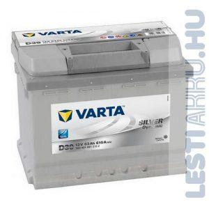 VARTA D39 Silver Dynamic Autó Akkumulátor 12V 63Ah 610A Bal+ (563401061)