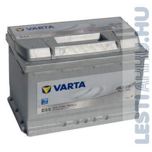 VARTA E44 Silver Dynamic Autó Akkumulátor 12V 77Ah 780A Jobb+ (577400078)