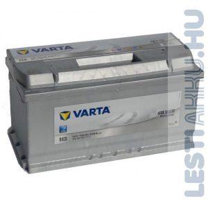 VARTA H3 Silver Dynamic Autó Akkumulátor 12V 100Ah 830A Jobb+ (600402083)