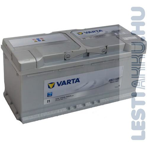 VARTA I1 Silver Dynamic Autó Akkumulátor 12V 110Ah 920A Jobb+ (610402092)