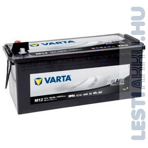 VARTA M12 Promotive Black Teherautó Akkumulátor 12V 180Ah 1400A Bal+ (680011140)