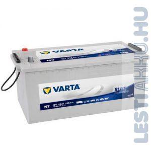 VARTA N7 Promotive Blue Teherautó Akkumulátor 12V 215Ah 1150A Bal+ (715400115)