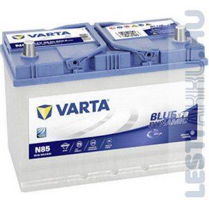 VARTA N85 Blue Dynamic EFB Autó Akkumulátor 12V 85Ah 800A Japán Jobb+ (585501080)