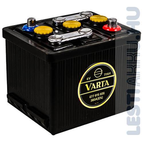 Varta Oldtimer Akkumulátor 6V 77Ah