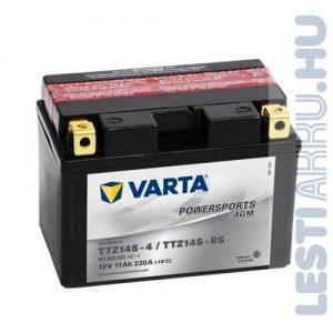 VARTA Powersports AGM Motor Akkumulátor TTZ14S-4 (YTZ14S-BS) 12V 11Ah 230A Bal+ (511902023A514)