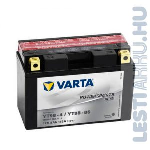 VARTA Powersports AGM Motor Akkumulátor YT9B-4 (YT9B-BS) 12V 8Ah 115A Bal+ (509902008A514)