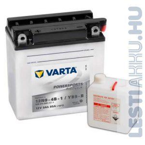 VARTA Powersports Freshpack Motor Akkumulátor YB9-B (12N9-4B-1) 12V 9Ah 85A Bal+ (509014008A514)