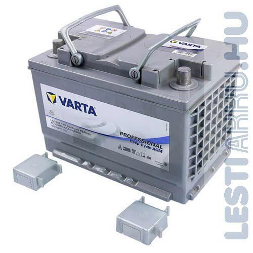 Varta Professional Deep Cycle AGM meghajtó akkumulátor LAD60B 12V 60Ah jobb+ (830060051D952)