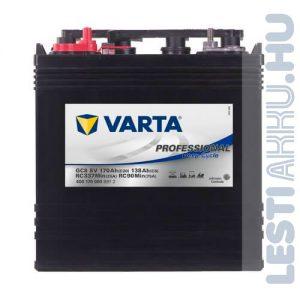 Varta Professional Deep Cycle Golf Cart DS meghajtó akkumulátor GC8 8V 170Ah bal+ (400170000B912)
