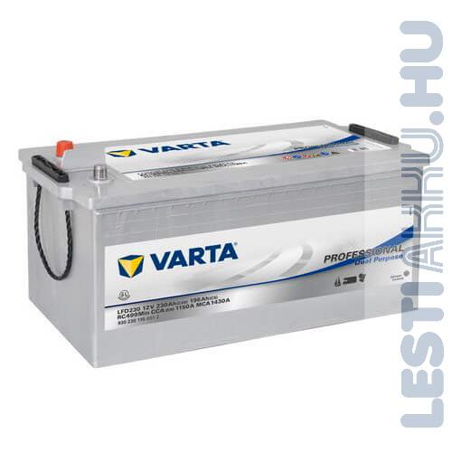 Varta Professional Dual Purpose meghajtó akkumulátor 12V 230Ah bal+ (930230115B912)