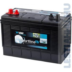 VMF Sportline RV munka akkumulátor 12V 105Ah Bal+
