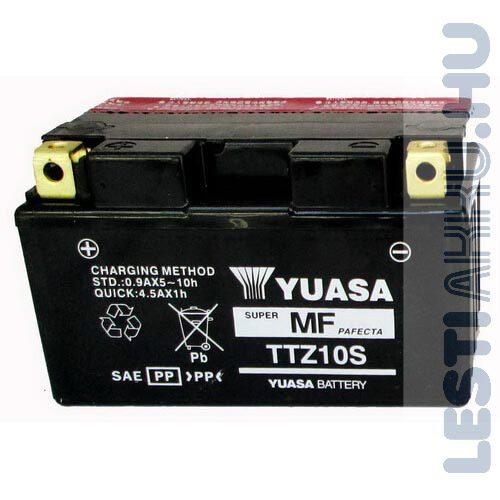YUASA Motor Akkumulátor TTZ10-BS (YTZ10-BS) 12V 9