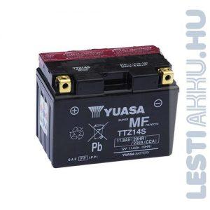 YUASA Motor Akkumulátor TTZ14-BS (YTZ14-BS) 12V 11