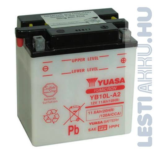 YUASA Motor Akkumulátor YB10L-A2 12V 11