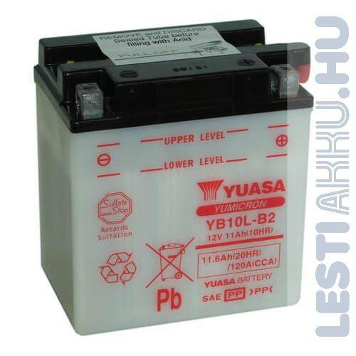 YUASA Motor Akkumulátor YB10L-B2 12V 11