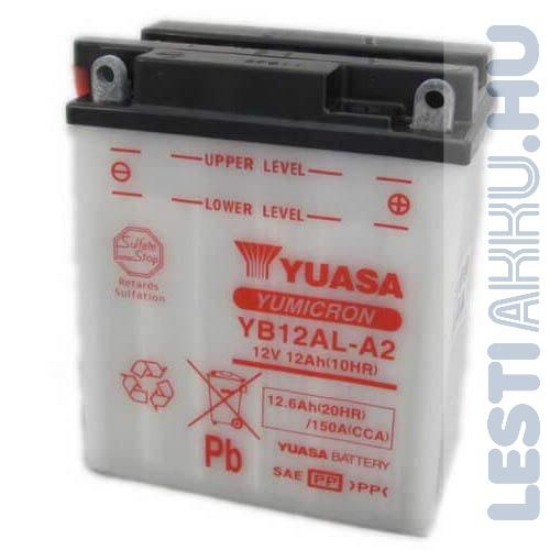 YUASA Motor Akkumulátor YB12AL-A2 12V 12