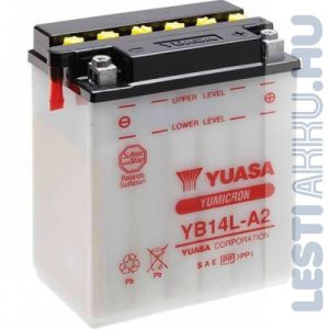 YUASA Motor Akkumulátor YB14L-A2 12V 14