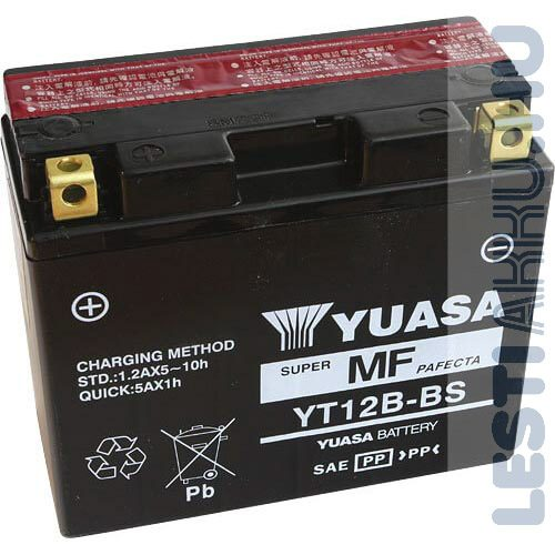YUASA Motor Akkumulátor YT12B-BS 12V 10