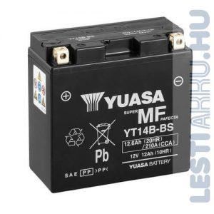 YUASA Motor Akkumulátor YT14B-BS 12V 12